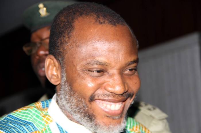 Biafra secessionist leader Nnamdi Kanu