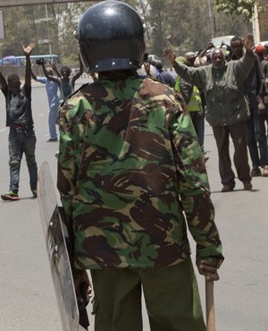 Kenya Riot Police