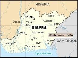 Map of Biafra