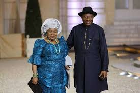 Mr and Ms Goodluck Jonathan